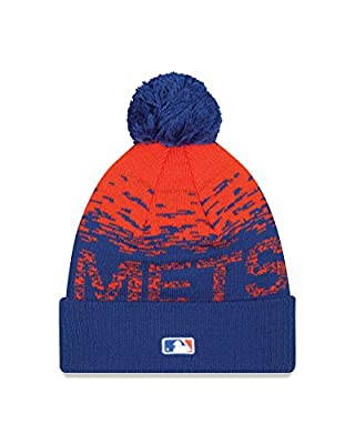 MLB New York Mets Headwear, Royal/Orange, One Size
