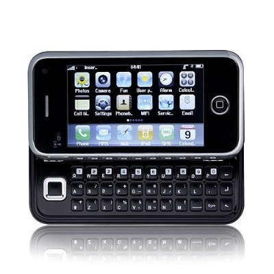 Unlocked V90 Touch Screen Phone Slide Out QWERTY Keyboard Dual SIM GSM