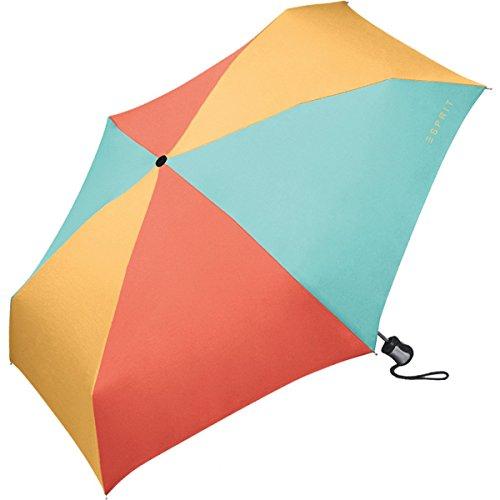 Esprit EasyMATIC ombrello a 4 sezioni, da borsetta, 21,5 cm Multicolore multicolore