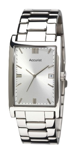 Accurist Men's Stainless Steel Bracelet Watch MB889S