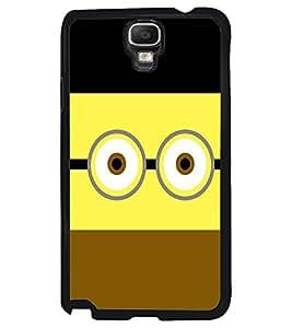PRINTVISA Minion Funny Case Cover for Samsung Galaxy Note 3 Neo