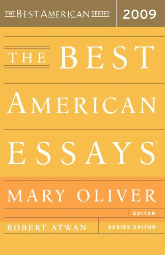 The Best American Essays 2009