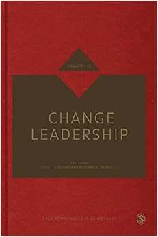 Change Leadership (SAGE Benchmarks In Leadership)