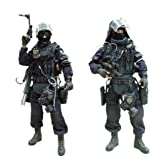 Hot Toys Military - Special Forces 1/6 DX Action Figure : GIGN Assault Team Leader & GIGN Operator ( Set of 2 )
