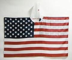 フラッグポンチョ アメリカ