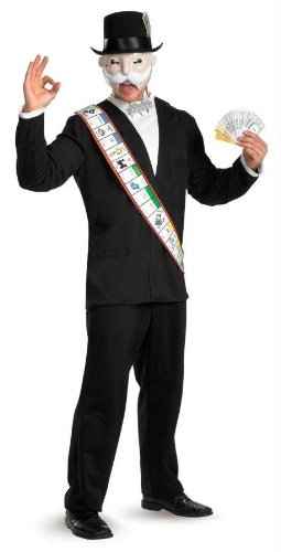 Costumes For All Occasions Dg16818D Monopoly Deluxe Adult 42-46