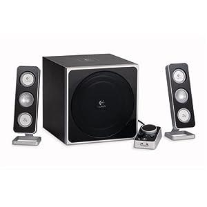 : Logitech Z-4 2.1 Speaker System with Subwoofer (Black): Electronics