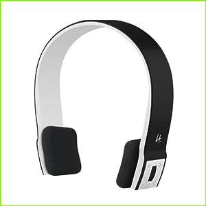 Halterrego MICHALBTCA Casque Bluetooth avec Microphone Noir