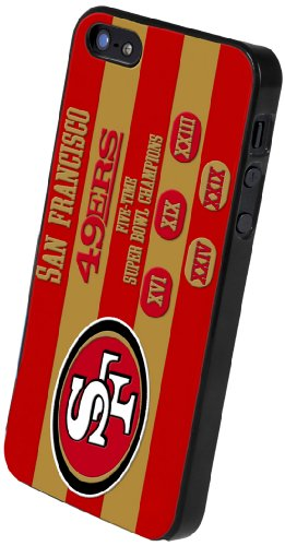 Best Price Forever Collectibles San Francisco 49ers Commemorative Hard Snap-On Apple iPhone 5 & 5S Case
