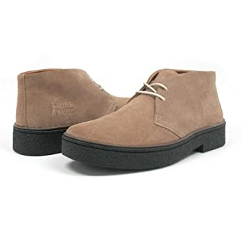 British Walkers Men's Playboy High top Chukka Boot, Taupe Suede, 10.5 M discount price 2015