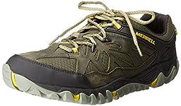 Merrell Men\'s All Out Blaze Ventilator Hiking Shoe, Olive, 15 M US