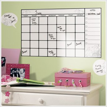 Peel & Stick By RoomMates Dry Erase Calendar Wall Decal