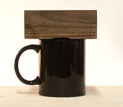 Lowest Price! Canadiano Premium Pour-Over Coffee Maker - Crafted Coffee; Personalized - Walnut Editi...