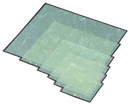 金箔紙ラミネート 緑 (500枚入) M33-468