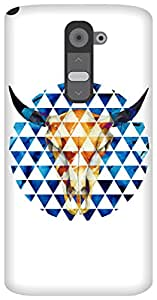 The Racoon Grip Taurus hard plastic printed back case / cover for LG G2