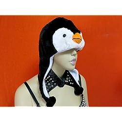 ペンギン 帽子 ぼうし  着ぐるみ かぶり物 被りもの コスプレ ぺんぎん