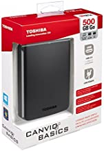 "Toshiba Canvio Basics - Disco duro externo de 2.5"" (USB 3.0, 1 TB), negro"