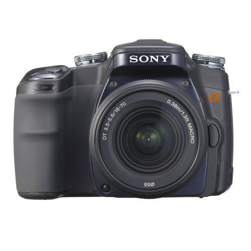 Sony Alpha DSLR-A100 (with 18-70mm Lens)