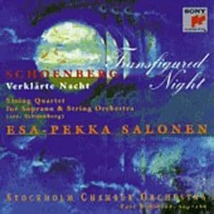 Schoenberg: String Quartet Transfigured Night