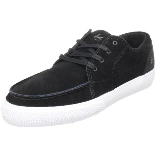 eS Men's Holbrock Lo Skate Shoe,Black/White,10 M US