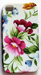 Desireonline Apple Iphone 4 4G 4S Designer Soft Tpu Silicon Case Cover Back Self Printed Skin Style 3