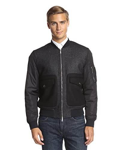 DSQUARED2 Men's Mixed Media Bomber