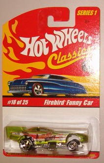 Hot Wheels Classic Series 1: Firebird Funny Car #18 of 25 1:64 Scale - 1