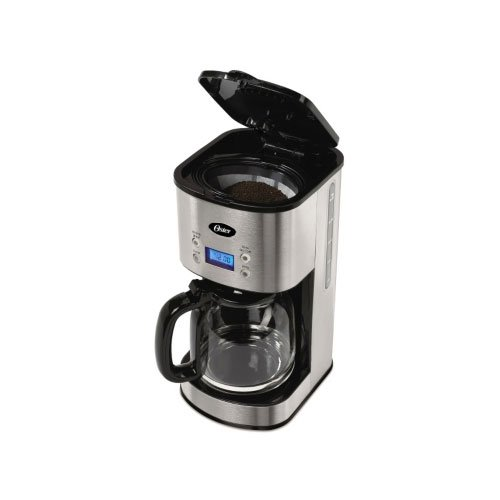 Oster Coffee Maker Water Filter : Oster 12-Cup Programmable Coffee Maker BVST-JBXSS41 - Stainless Steel by Oster - Coffee Pigs
