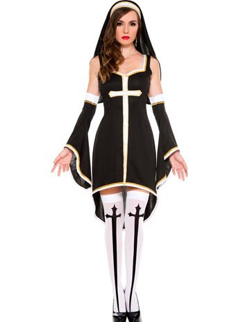 Sinfully Hot Nun Sexy Costume - XLARGE