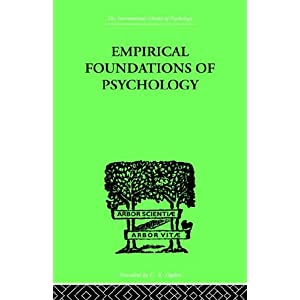 "Portada ""Empirical Foundations of Psychology"""