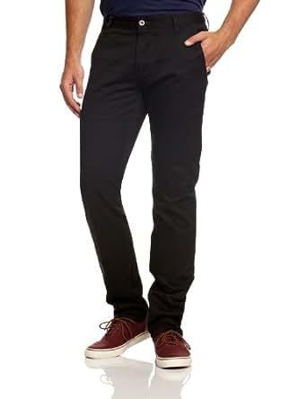 Dockers Men's Alpha Khaki Original Slim Trousers, Black, 29W/32L