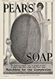 Moonlizard Pears Soap Vintage Advert No 57 Metal Plaque Sizes - 11