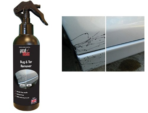 Good Ideas Bug & Tar Remover (1160) Removes tar and dried on insects from your car or motorbike. Solvent Free.