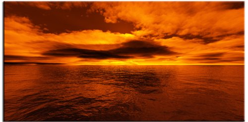 Moira Digital Art Canvas Sunset Seascape Wall Home Decor Giclee