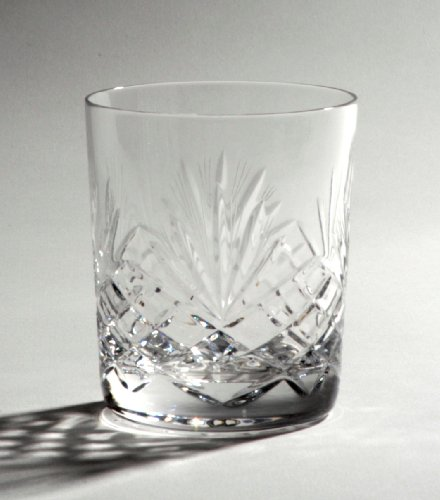 Crystal Large Whisky Tumblers - set of 6 - Majestic