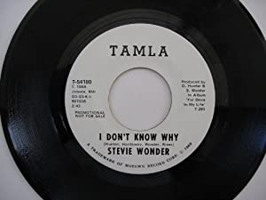 I Don T Know Why My Cherie Amour Amazon Co Uk Music