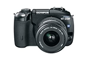 Olympus Evolt E330 7.5MP Digital SLR Camera with 14-45mm f3.5/5.6 Zuiko Digital Zoom Lens