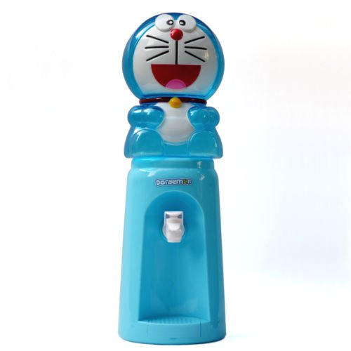 Mini Water Dispenser miniature cooler 8 Glasses Cartoon Style Available 84oz (doraemon) (Kennel Tabletop compare prices)