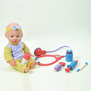Amazon 12 Baby Doll Doctor Set Toys Amp Games