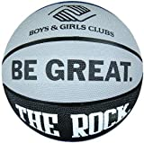 Anaconda Sports® The Rock® MG-4200-B+G-B Boys and Girls Club B&G Be Great Regulation Size Rubber Basketball