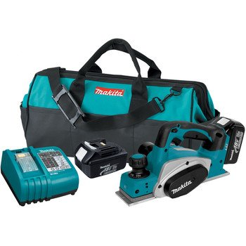 Makita Makita LXPK01 18V LXT Lithium-Ion Cordless 3-1/4-Inch Planer Kit
