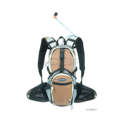 Source Spinner Pro Race Hydration Pack: 3 liter; Earth