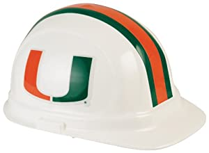 NCAA Miami Hurricanes Hard Hat by WinCraft