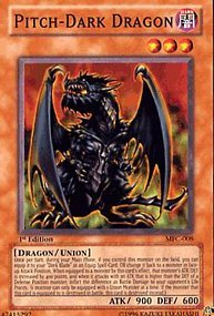 YuGiOh Magician's Force Pitch-Dark Dragon MFC-008 Common [Toy]