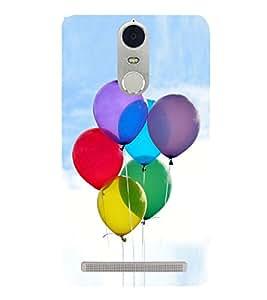 Colourful Balloons 3D Hard Polycarbonate Designer Back Case Cover for Lenovo K5 Note :: Lenovo Vibe K5 Note Pro