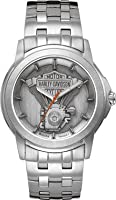 Harley-Davidson® Men's Bulova Bracelet Watch 76A021