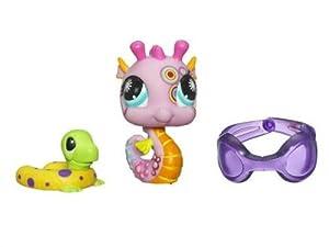 Littlest Pet Shop Series 2 Postcard Pets Seahorse