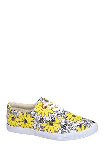 Floral People Slip On Sneaker