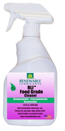 Renewable Lubricants Food Grade Cleaner, 12 Oz Spray Bottle
