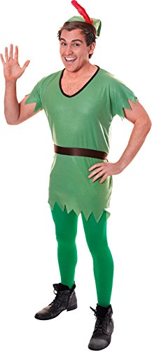 Christmas Fancy Dress Party Adult Robin Hood Costume Complete Outfit One Size